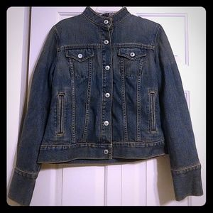 GAP Jackets & Coats - Women's Gap Jean Jacket Wool Lined